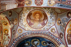 Νωπογραφία, εκκλησία βράχου σε Cappadocia, Τουρκία, Μέση Ανατολή Στοκ φωτογραφία με δικαίωμα ελεύθερης χρήσης