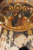 Νωπογραφία, εκκλησία βράχου σε Cappadocia, Τουρκία, Μέση Ανατολή Στοκ Εικόνες