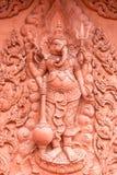 Νωπογραφία στο βουδιστικό ναό Στοκ φωτογραφία με δικαίωμα ελεύθερης χρήσης