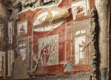 Νωπογραφία Herculaneum Στοκ Εικόνα