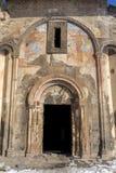 Νωπογραφίες της εκκλησίας Tigran Honents στην αρχαία πόλη Ani, Kars, Τούρκος Στοκ φωτογραφία με δικαίωμα ελεύθερης χρήσης
