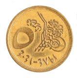 νόμισμα Αιγύπτιος Στοκ Φωτογραφία
