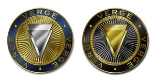 Νόμισμα ΑΚΡΩΝ Cryptocurrency Στοκ Φωτογραφίες
