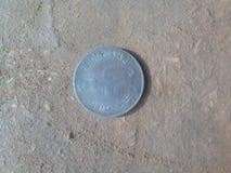 Νόμισμα για τη τοπ άποψη στοκ φωτογραφίες