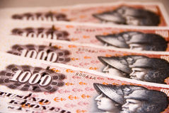 νόμισμα δανικά Στοκ εικόνες με δικαίωμα ελεύθερης χρήσης