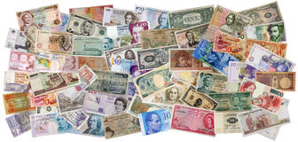 νόμισμα διεθνές Στοκ Εικόνες