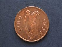 Νόμισμα ΔΠΕ ιρλανδικών λιβρών Στοκ εικόνα με δικαίωμα ελεύθερης χρήσης