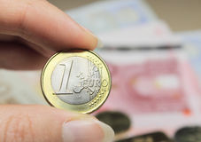 νόμισμα ευρο- Στοκ φωτογραφία με δικαίωμα ελεύθερης χρήσης