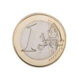 νόμισμα ευρο- Στοκ Εικόνες