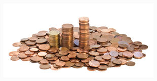 νόμισμα ευρωπαϊκά Στοκ εικόνα με δικαίωμα ελεύθερης χρήσης