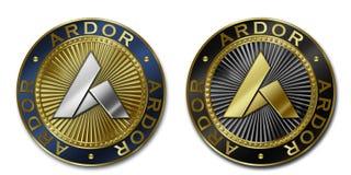 Νόμισμα ΖΗΛΟΥ Cryptocurrency Στοκ φωτογραφία με δικαίωμα ελεύθερης χρήσης