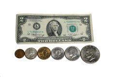 νόμισμα ΗΠΑ Στοκ εικόνες με δικαίωμα ελεύθερης χρήσης