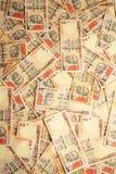 νόμισμα Ινδός ανασκόπησης Στοκ Φωτογραφία