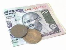 νόμισμα Ινδός Στοκ Εικόνες
