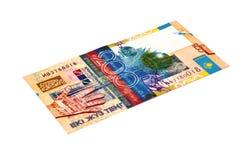 νόμισμα Καζακστάν στοκ φωτογραφία