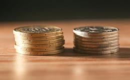 νόμισμα Κινηματογράφηση σε πρώτο πλάνο Στοκ Εικόνα