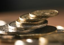 νόμισμα Κινηματογράφηση σε πρώτο πλάνο Στοκ Φωτογραφία