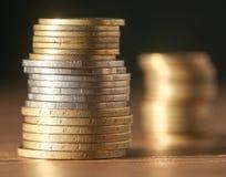 νόμισμα Κινηματογράφηση σε πρώτο πλάνο Στοκ Φωτογραφίες
