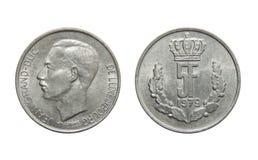 Νόμισμα Λουξεμβούργο 5 φράγκα στοκ φωτογραφίες με δικαίωμα ελεύθερης χρήσης