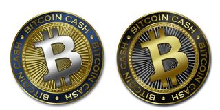 Νόμισμα ΜΕΤΡΗΤΏΝ Cryptocurrency BITCOIN Στοκ φωτογραφία με δικαίωμα ελεύθερης χρήσης