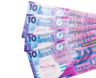 Νόμισμα δολαρίων Χονγκ Κονγκ Στοκ Εικόνα