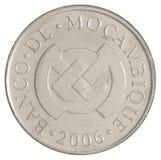Νόμισμα πέντε metical Στοκ εικόνες με δικαίωμα ελεύθερης χρήσης