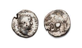 νόμισμα παλαιός Ρωμαίος στοκ εικόνες
