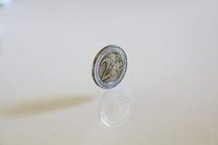 Νόμισμα που απομονώνεται Στοκ Εικόνες