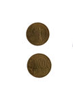 Νόμισμα 10 ρούβλια Στοκ φωτογραφία με δικαίωμα ελεύθερης χρήσης