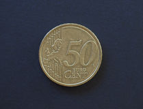 νόμισμα 50 σεντ, Ευρωπαϊκή Ένωση Στοκ φωτογραφία με δικαίωμα ελεύθερης χρήσης