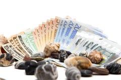 Νόμισμα στο άσπρο υπόβαθρο Στοκ εικόνα με δικαίωμα ελεύθερης χρήσης