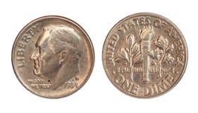 νόμισμα της Αμερικής Στοκ Εικόνα