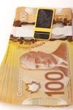 Νόμισμα του Καναδά Στοκ Φωτογραφίες