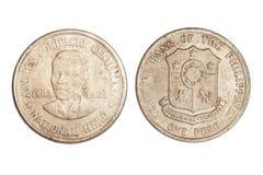 νόμισμα Φιλιππίνες Στοκ Εικόνα
