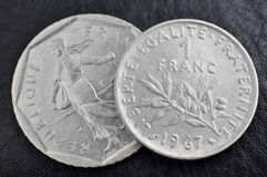 Νόμισμα φράγκων Στοκ φωτογραφία με δικαίωμα ελεύθερης χρήσης
