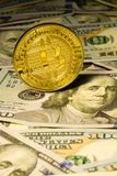 Νόμισμα Bitcoin Στοκ φωτογραφίες με δικαίωμα ελεύθερης χρήσης