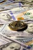 Νόμισμα Bitcoin Στοκ Φωτογραφίες