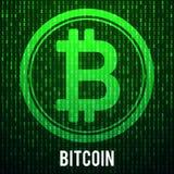 Νόμισμα Cripto bitcoin Στοκ εικόνα με δικαίωμα ελεύθερης χρήσης