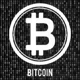Νόμισμα Cripto bitcoin Στοκ φωτογραφία με δικαίωμα ελεύθερης χρήσης
