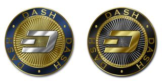 Νόμισμα cryptocurrency ΕΞΟΡΜΗΣΗΣ Στοκ Φωτογραφίες