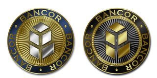 Νόμισμα Cryptocurrency BANCOR Στοκ εικόνες με δικαίωμα ελεύθερης χρήσης