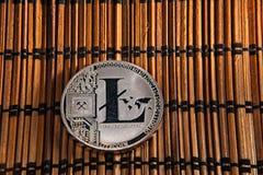 Νόμισμα LTC Litecoin Στοκ Εικόνες
