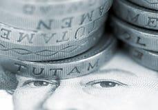 νόμισμα UK Στοκ εικόνες με δικαίωμα ελεύθερης χρήσης