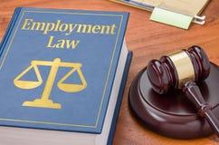 Νόμος απασχόλησης στοκ φωτογραφία
