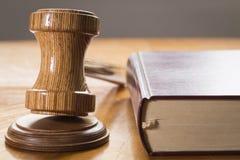 Νόμος και τάξη Στοκ Εικόνες
