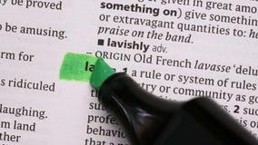 Νόμος που τονίζεται σε πράσινο φιλμ μικρού μήκους