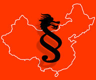 Νόμος στην Κίνα Στοκ Εικόνες