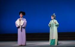 """Νόμος ως το προξενητής-δεύτερο πράξη-Kunqu Opera""""Madame άσπρο Snake† Στοκ Εικόνες"""