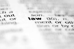 νόμος Στοκ Φωτογραφίες