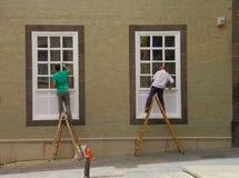 Νόμος Balanceing στις σκάλες Στοκ Φωτογραφίες